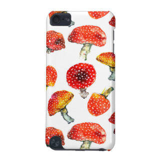 Watercolor mushrooms Cute fall pattern iPod Touch 5G Case