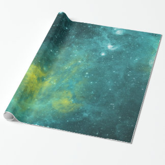 Watercolor Nebula Wrapping Paper