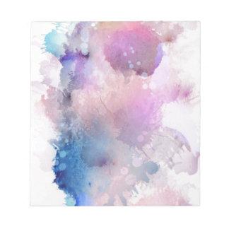 Watercolor Notepad