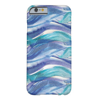 Watercolor Ocean Waves iPhone 6 case Barely There iPhone 6 Case