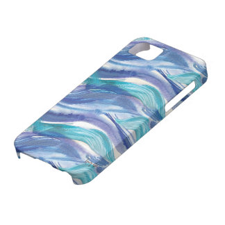 Watercolor Ocean Waves iPhone Case