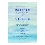 Watercolor Ocean Wedding Invitations Invite