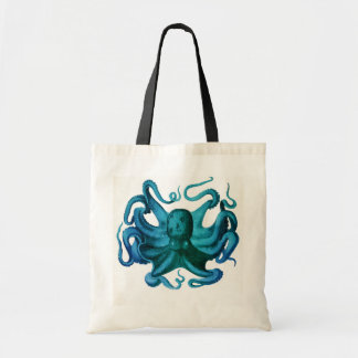 Watercolor Octopus Illustration