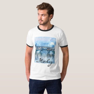 Watercolor of Florence Italy T-Shirt