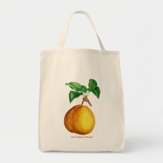 "Watercolor of Pear ""Duchesse de Mouchy"" Tote Bag"