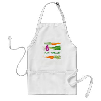 Watercolor Onion and Carrots Standard Apron