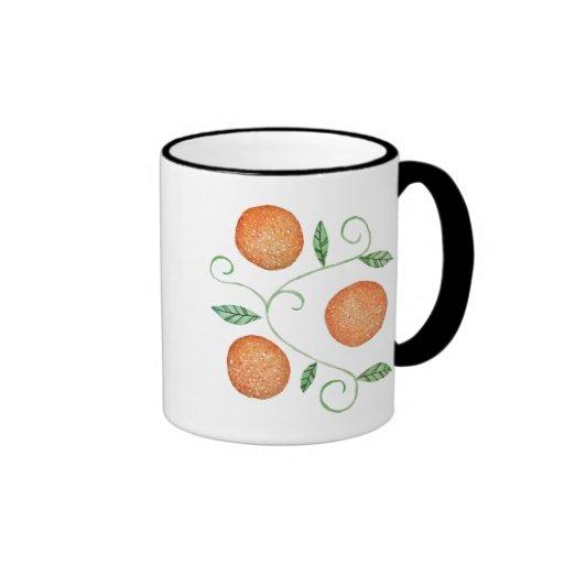 Watercolor Oranges Mugs