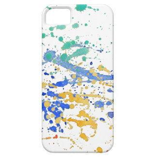 Watercolor Paint Splatters Barely There iPhone 5 Case