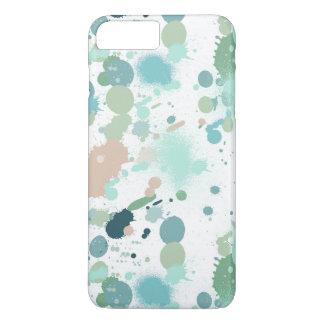 Watercolor Paint Splatters iPhone 7 Plus Case