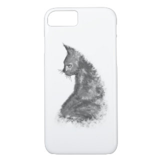 Watercolor Painted Cat Apple iPhone 8/7 iPhone 8/7 Case