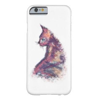 Watercolor Painted Cat iPhone 6/6s Case