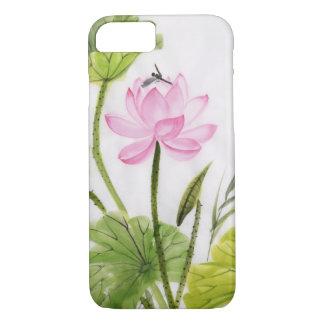 Watercolor Painting Of Lotus Flower 2 iPhone 8/7 Case