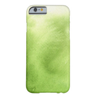 watercolor paints on a rough texture paper barely there iPhone 6 case