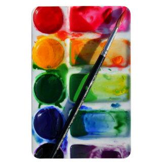 Watercolor Palette Magnet