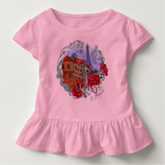 Watercolor Paris Toddler T-Shirt