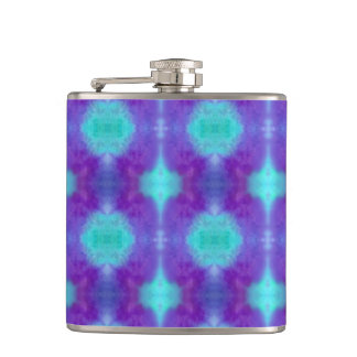 Watercolor Pattern I Flask