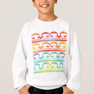 Watercolor Pattern Rainbow - water color sample Sweatshirt
