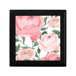 Watercolor Peonies 1 Gift Box