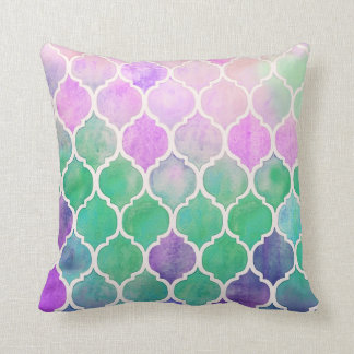 Watercolor Pillow Pretty
