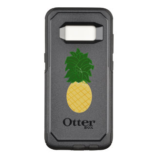 Watercolor Pineapple Design OtterBox Commuter Samsung Galaxy S8 Case