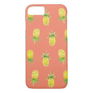 Watercolor Pineapple iPhone 7 Case