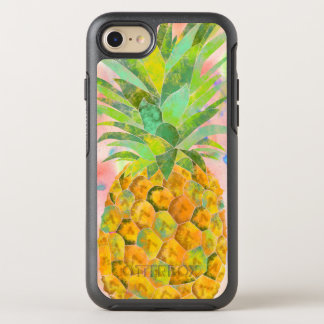 Watercolor pineapple OtterBox symmetry iPhone 8/7 case