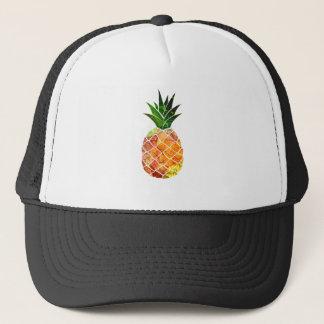 Watercolor Pineapple Trucker Hat