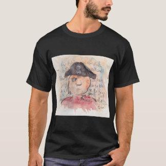 Watercolor Pirate T-Shirt