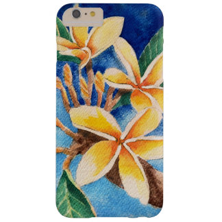 Watercolor Plumeria Night iPhone Case