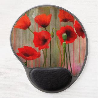 Watercolor poppies, vallmo