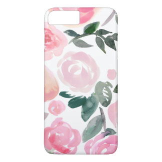 WATERCOLOR PRING ROSES IPHONE CASE