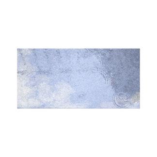 Watercolor Rain Puddle Canvas Print