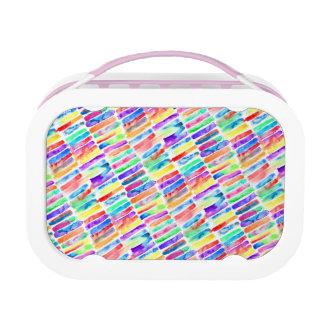 Watercolor Rainbow Lunch Box