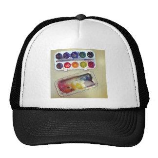 Watercolor Rainbow Paint Palette Cap