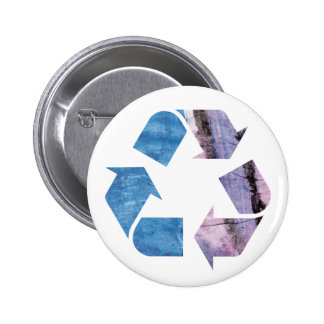 Watercolor Rainbow Recycle Button ad