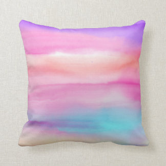 Watercolor Rainbows - All Options Cushion