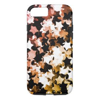 WaterColor Red Kawaii Stars Shibuya Night iPhone 7 Case