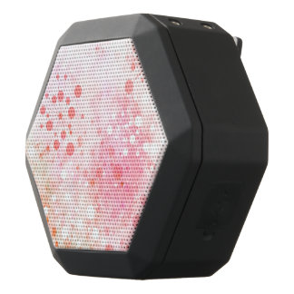 Watercolor Retro 60's Design in Pink Black Boombot Rex Bluetooth Speaker
