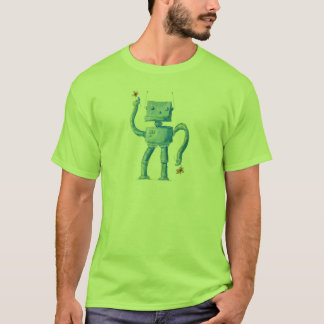 Watercolor Robot T-Shirt