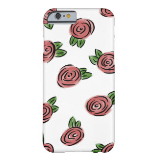 Watercolor Rose Barely There iPhone 6 Case