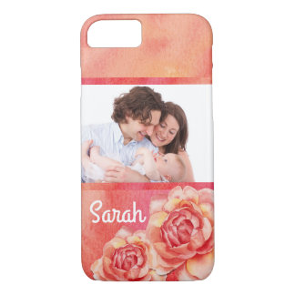 Watercolor Roses iPhone 8/7 Case