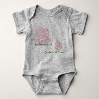 watercolor roses t shirt