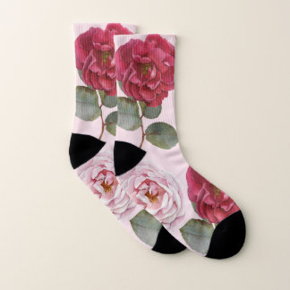 Watercolor Roses | Women's Patterned Socks 1