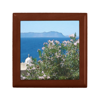 Watercolor sea view gift box