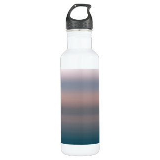 Watercolor Sky Pink and Blue Ombre Background 710 Ml Water Bottle