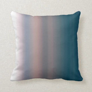Watercolor Sky Pink and Blue Ombre Background Throw Cushions