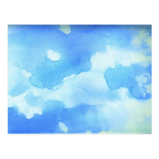 Watercolor Sky Postcard