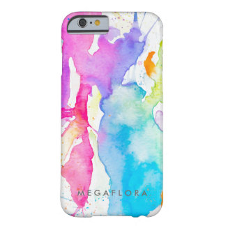 Watercolor Splash By Megaflora Barely There iPhone 6 Case