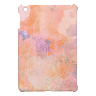 Watercolor splash iPad mini cases