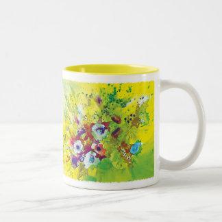 Watercolor Splash Coffee Mugs